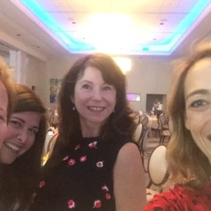 Selfie with Therese Fowler, Lisa Unger and Paula McLain