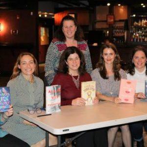 At Point Street with Robin Kall, Juliette fay, Maddie Dawson, Georgia Lou Clark and Kate Moretti