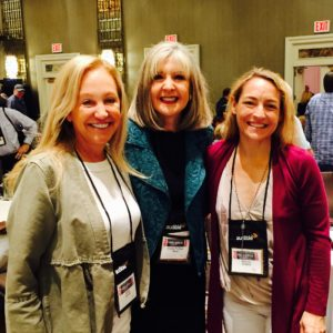Kaira Rouda, Hank P Ryan and Wendy Walker at ThrillerFest18