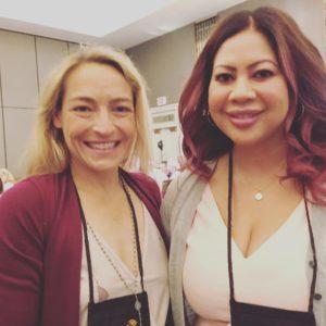 Wendy Walker and Jennifer Hillier at ThrillerFest18