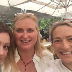 Jennifer Pashley, Cheryl Reed and Wendy Walker at Thrillerfest 2018