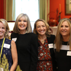 Lea Carpenter, Vera Gibbons, Hank Phillippi-Ryan, Wendy Walker(me), Lynne Constantine and Aimee Molloy at the event sponsored by the Friends of the Simsbury (CT) Public Library
