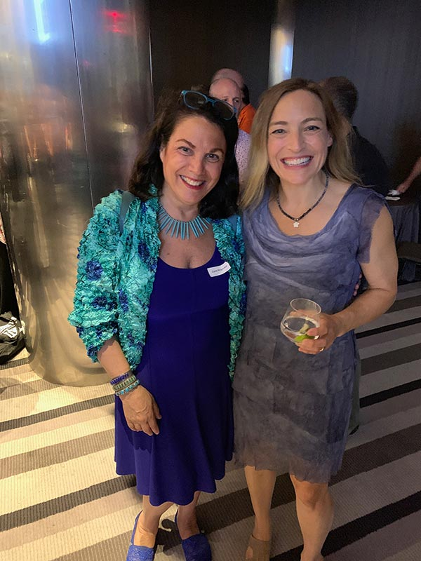 Wendy Walker and Carol Fitzgerald (Thrillerfest 2019)